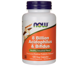 Acidophilus & Bifidus 8 Billion - 120 veg Capsules
